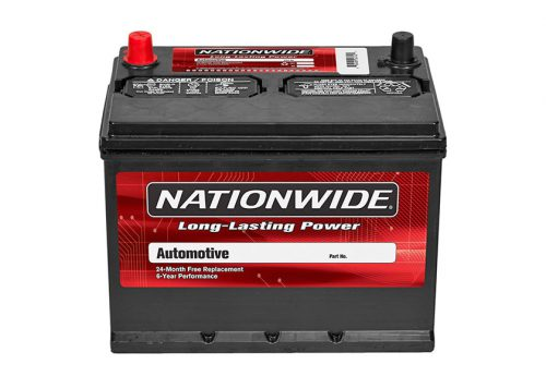 Nationwide Batteries at Burnaby Auto Parts