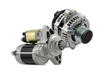 Remanufactured starters and alternators at Burnaby Auto Parts